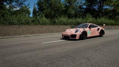 极限竞速地平线4 保时捷911粉猪涂装