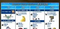 《怪物猎人物语2:毁灭之翼》更新日程图
