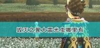 《怪物猎人物语2:毁灭之翼》大雷光虫位置介绍
