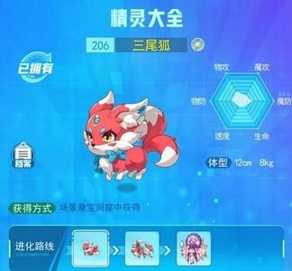 超级精灵手表三尾狐捕捉位置一览