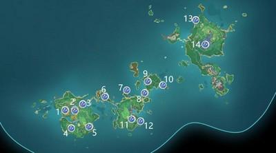 原神稻妻魔晶矿点在哪 稻妻新增魔晶矿点位置大全