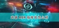 《上行战场》武器ABR指挥官介绍