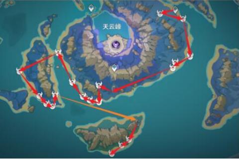 原神浮游核刷新点在哪 原神浮游核位置说明