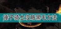 《暗黑破坏神2》锤子骑士攻略黑毛方法